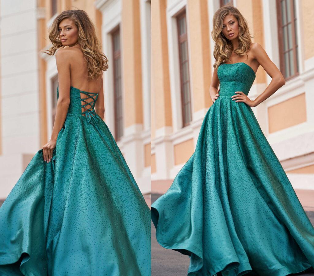 prom dress body type